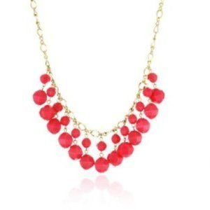 New Kate Spade Cut to the Chase Pink Bead Necklace